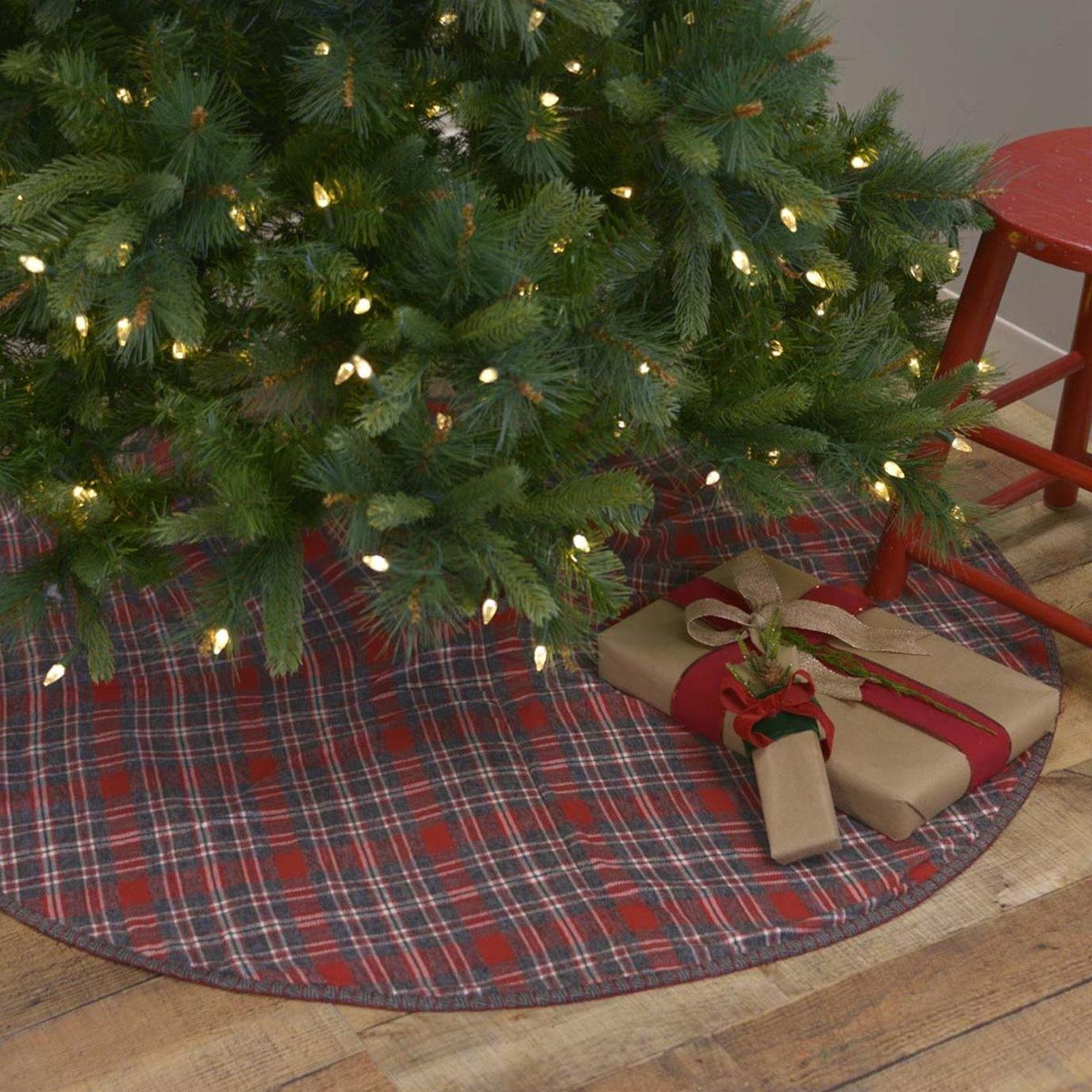 Anderson Plaid Tree Skirt 48