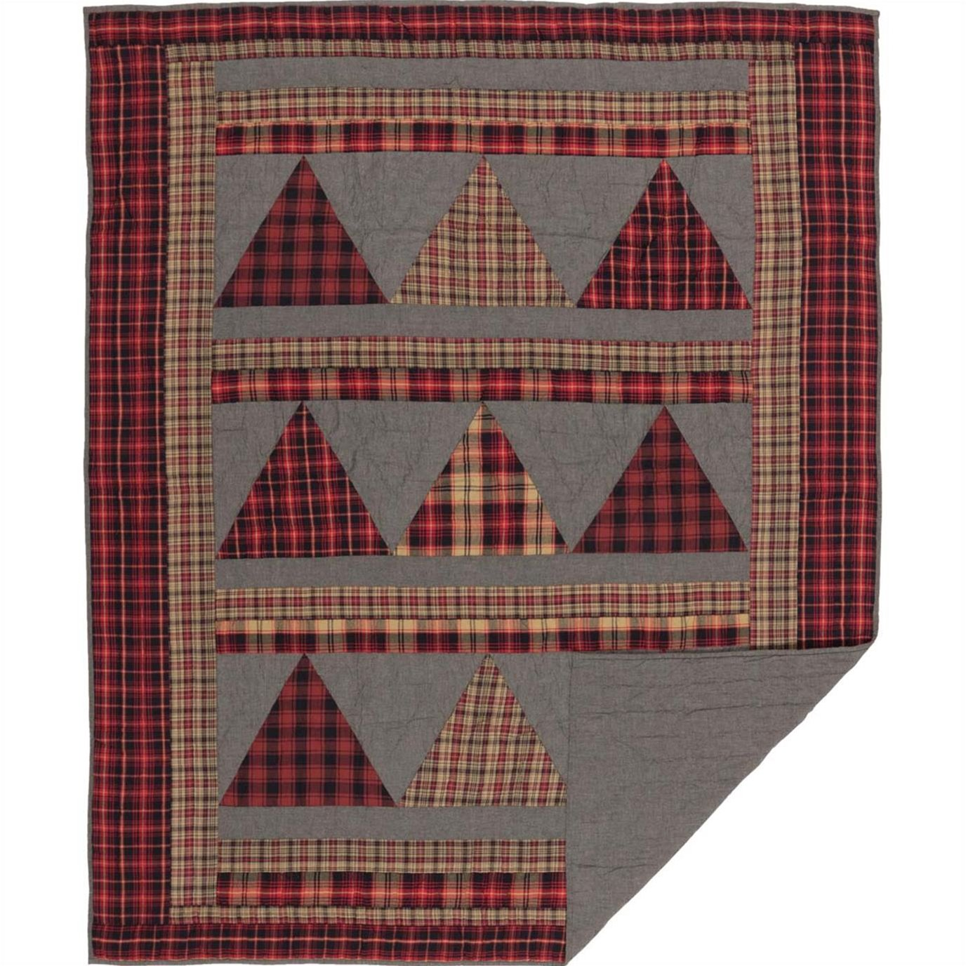 Andes Quilted Throw 60x50 By Seasons Crest Vhc Brands