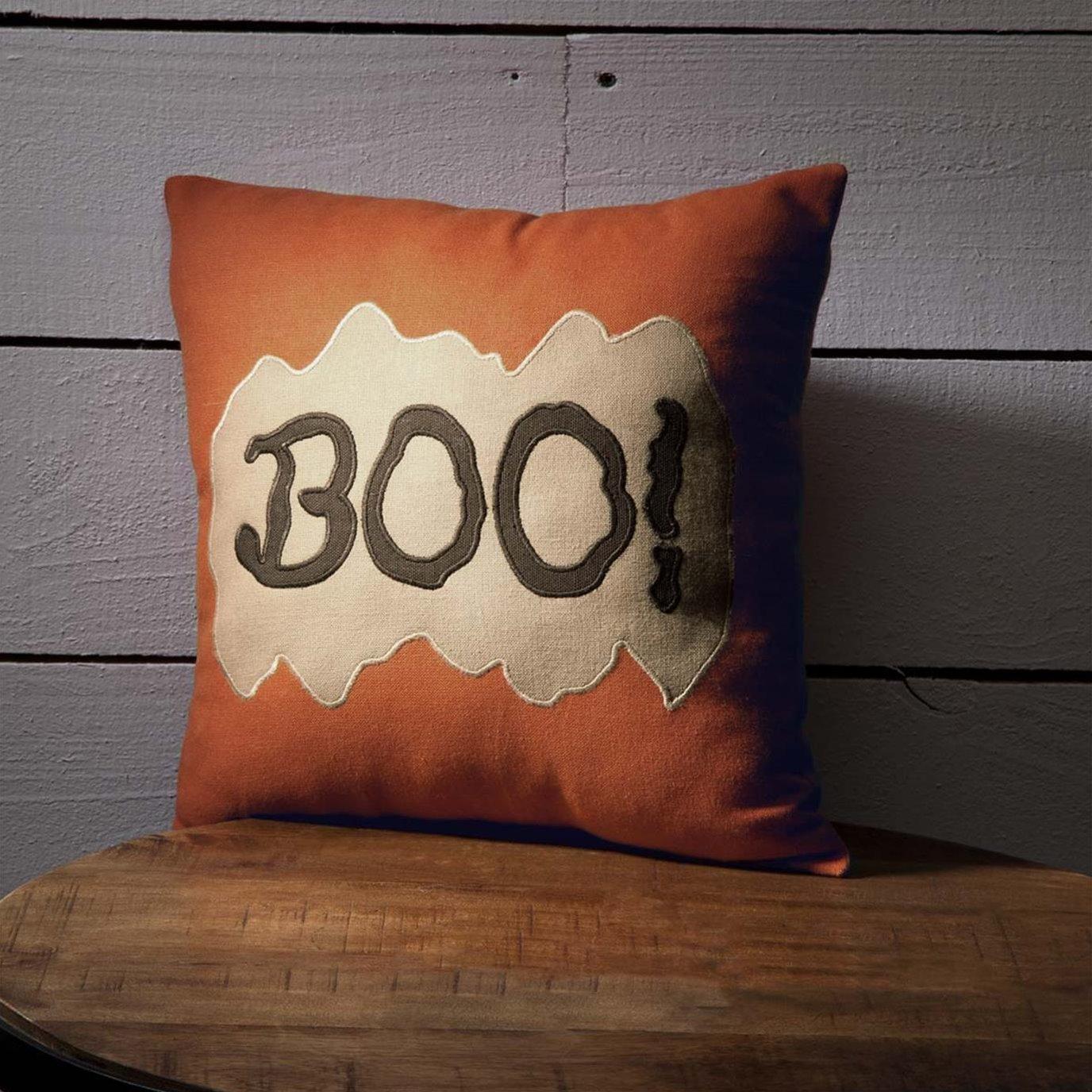 Boo Pillow 12x12