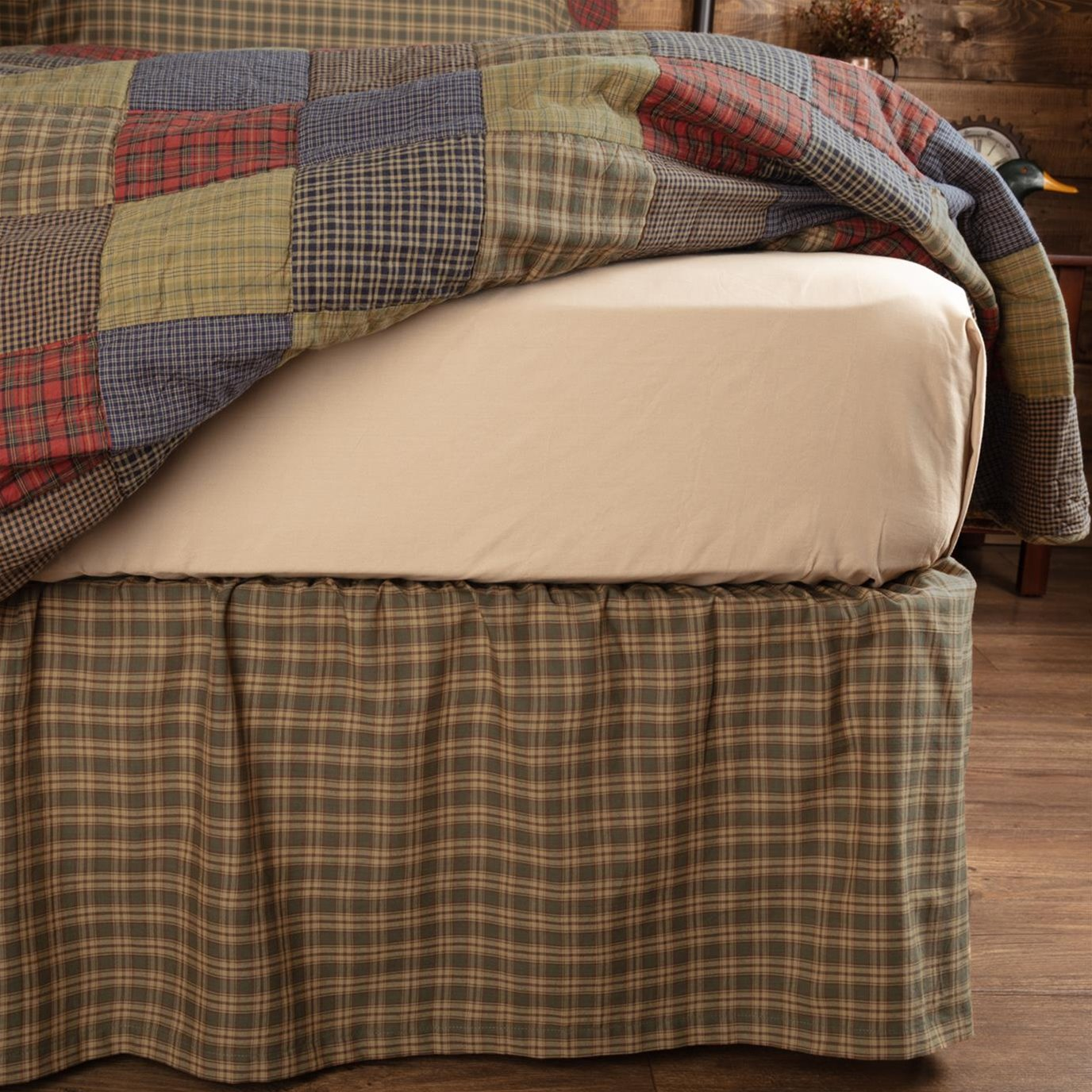 Cedar Ridge Queen Bed Skirt 60x80x16