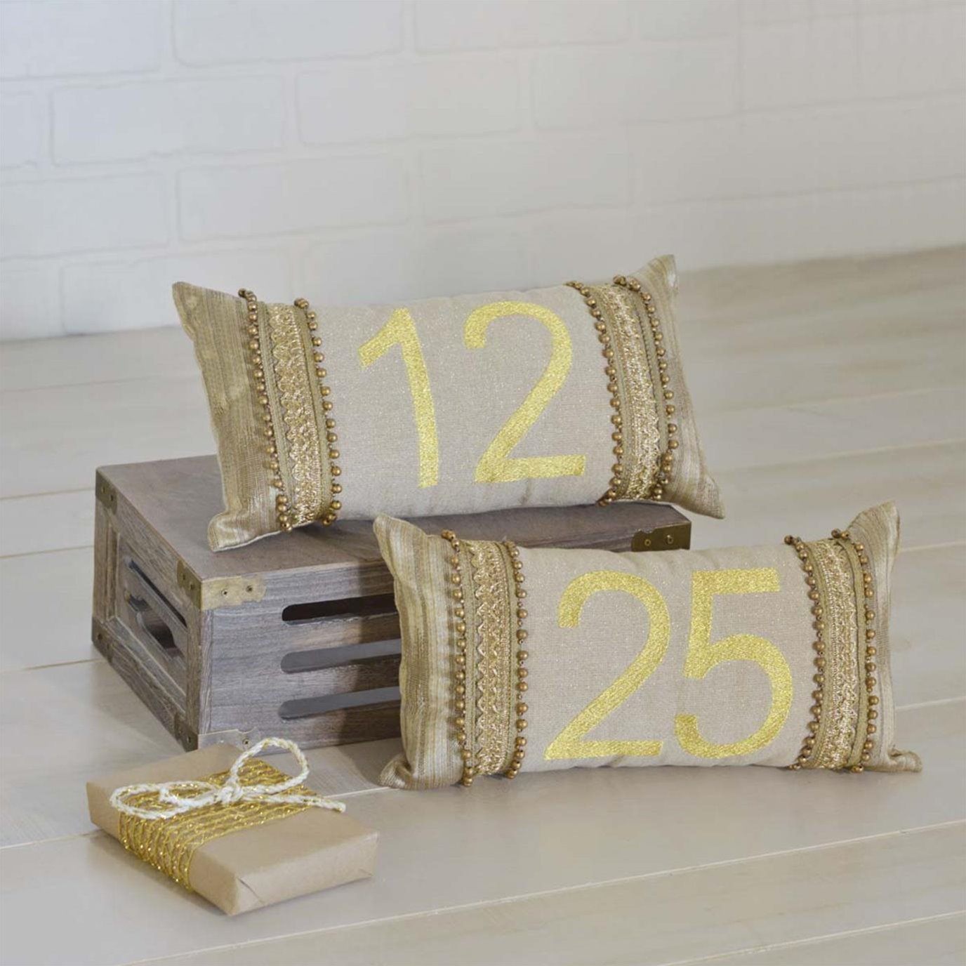 Celebrate Pillow Set of 2 7x13