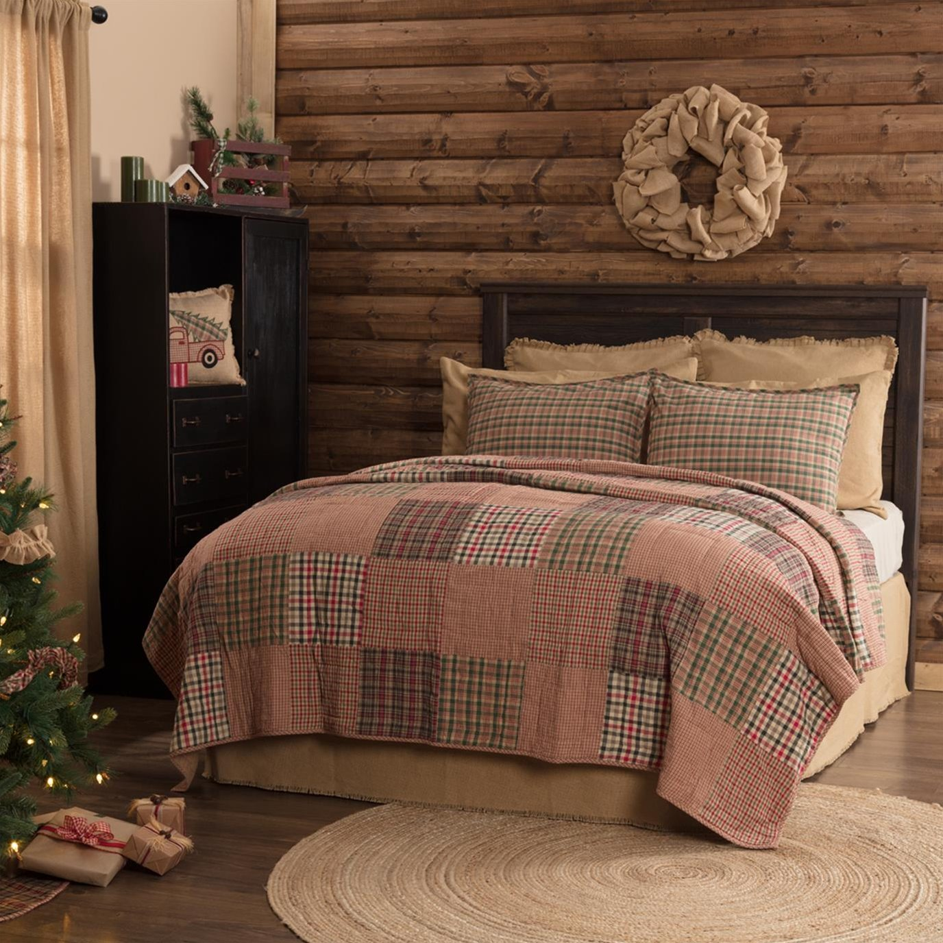 Clement Luxury King Quilt 120Wx105L