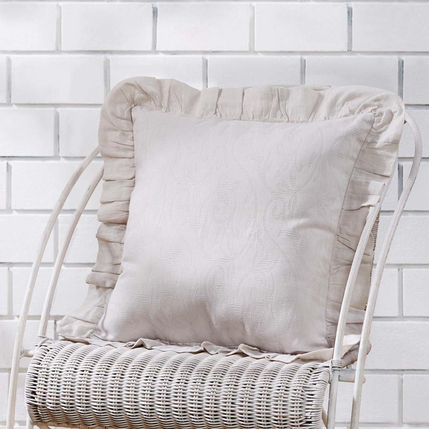 Corrine Ruffle Pillow Cover 18x18