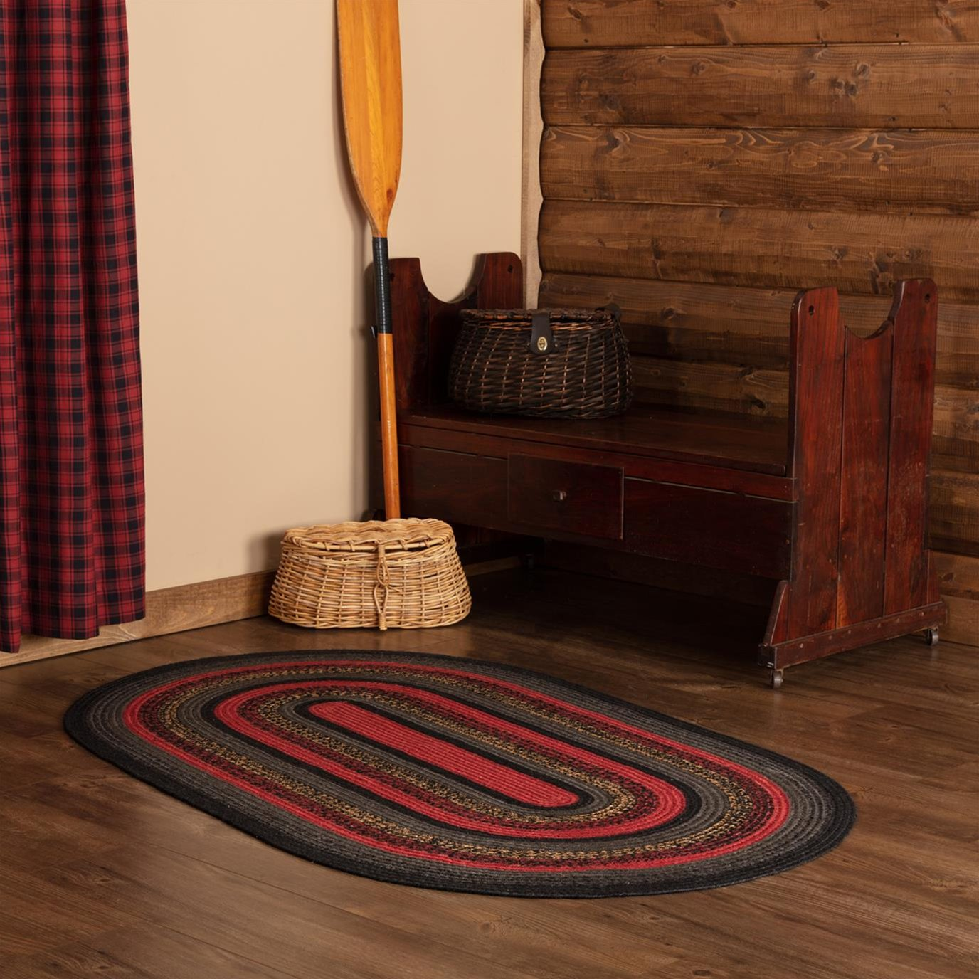 Cumberland Jute Rug Oval 48x72 By Oak Amp Asher Vhc Brands