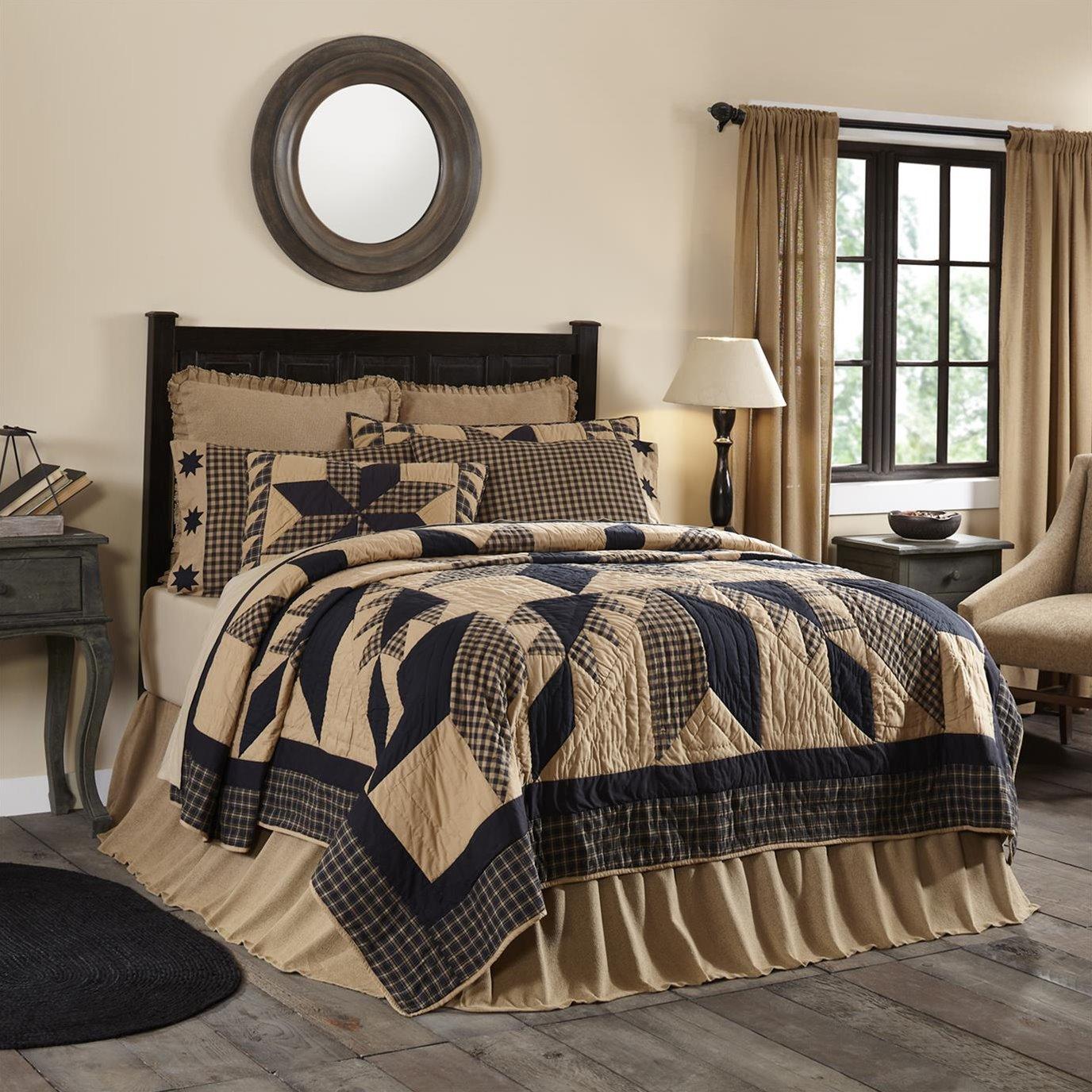 Dakota Star California King Quilt 130Wx115L