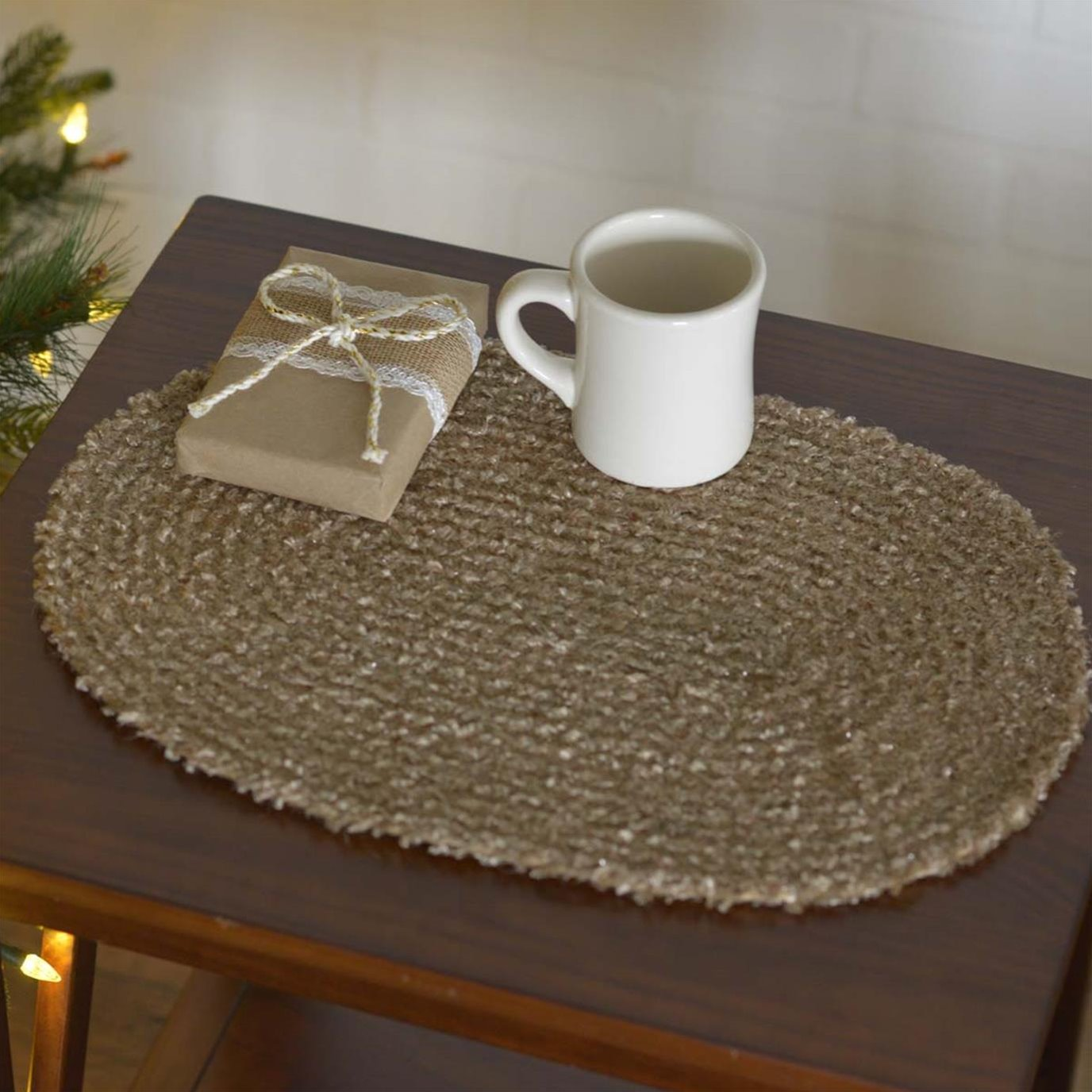 Dyani Champagne Placemat Set of 6 12x18