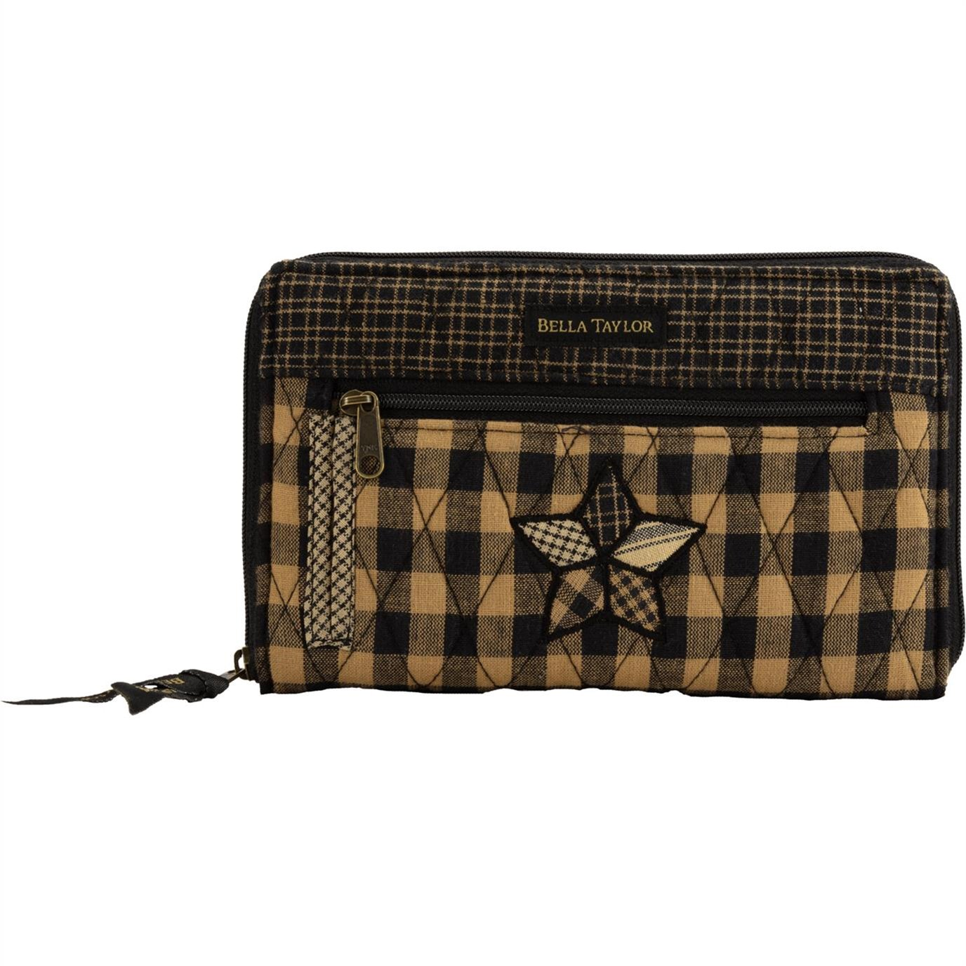 Farmhouse Star Wrist Strap Wallet