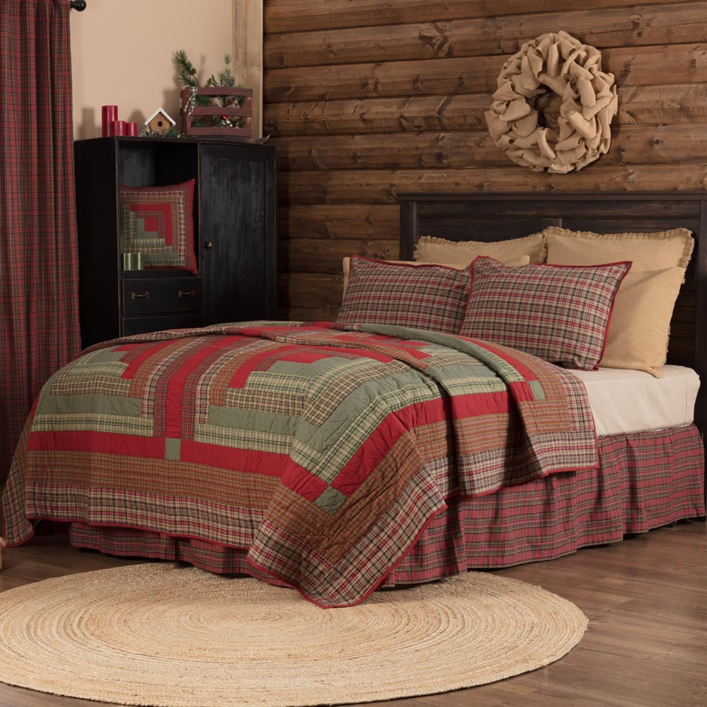 Gatlinburg King Quilt 105Wx95L