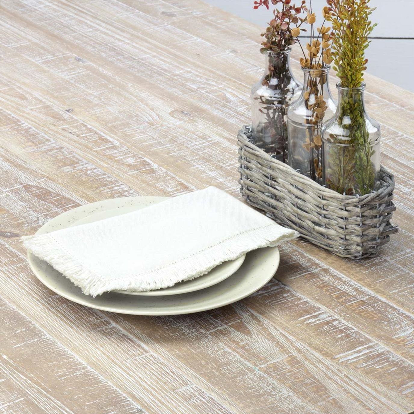 Haven Creme Napkin Set of 6 18x18