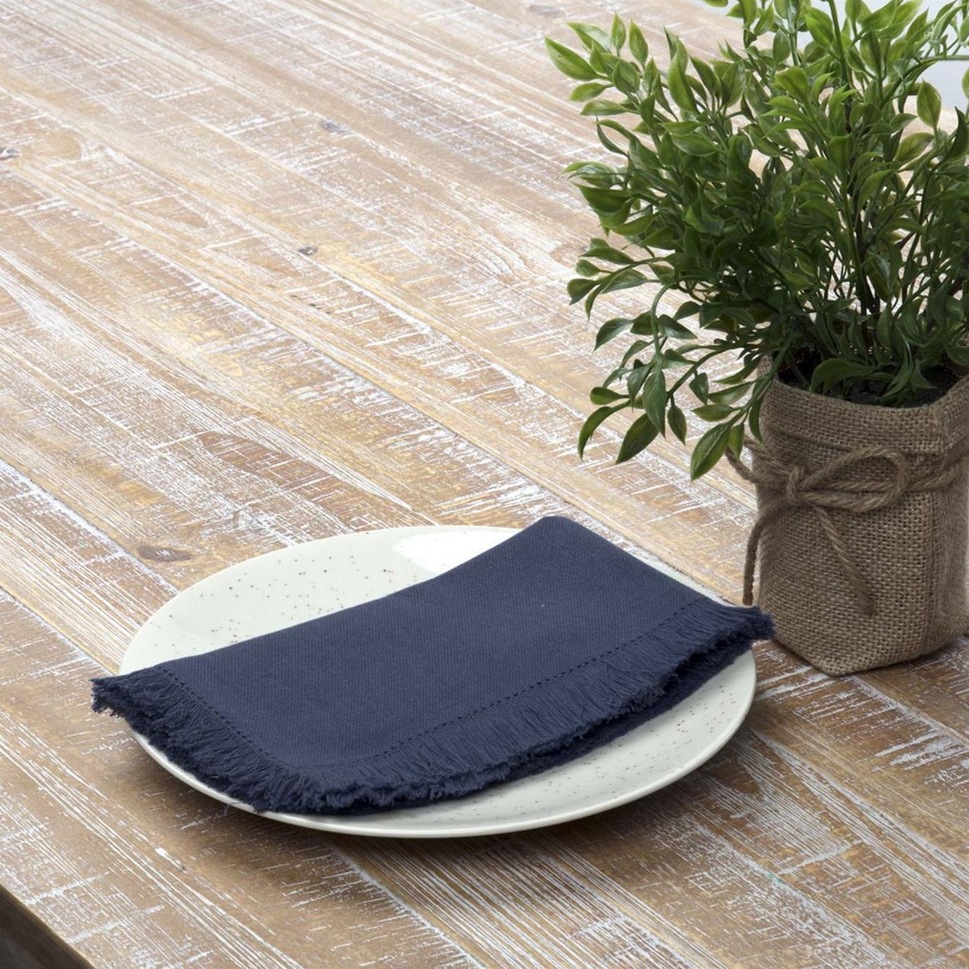 Haven Navy Napkin Set of 6 18x18