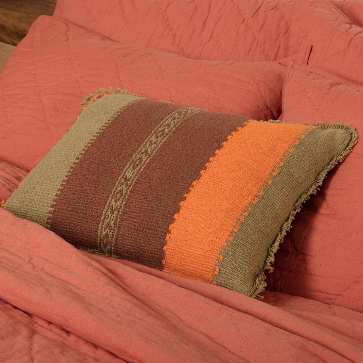 Heather Jacquard Pillow 14x18