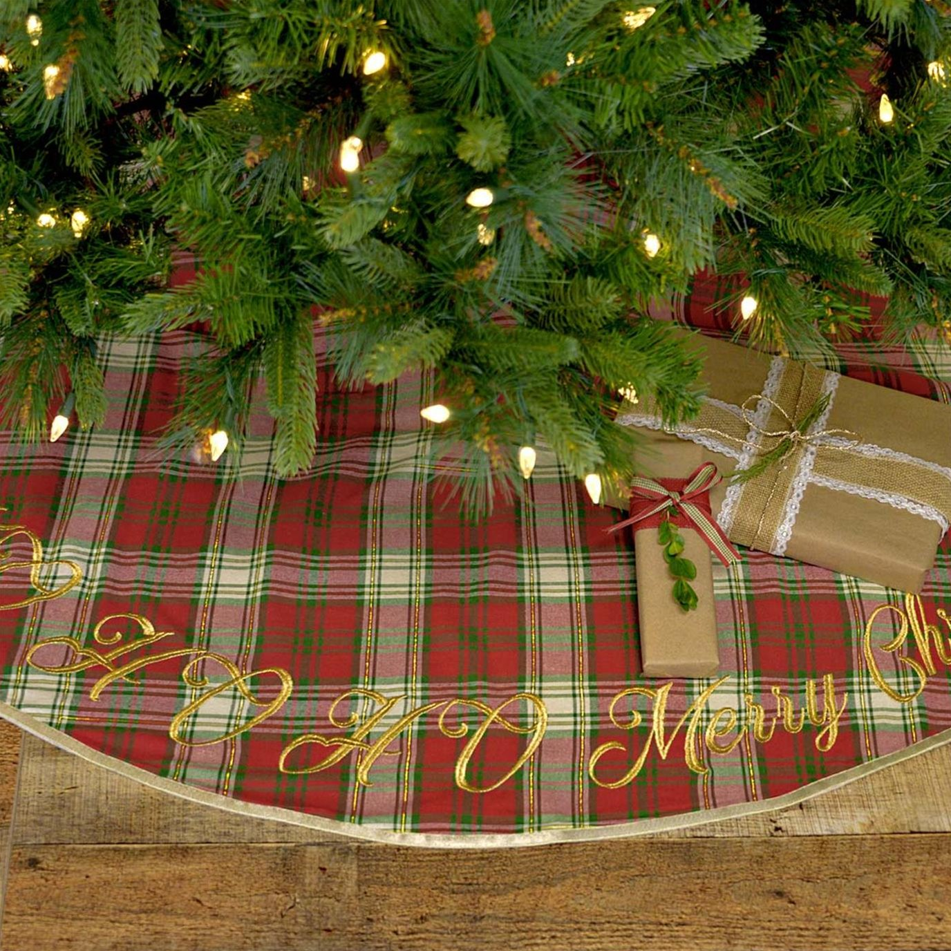 HO HO Holiday Tree Skirt 48
