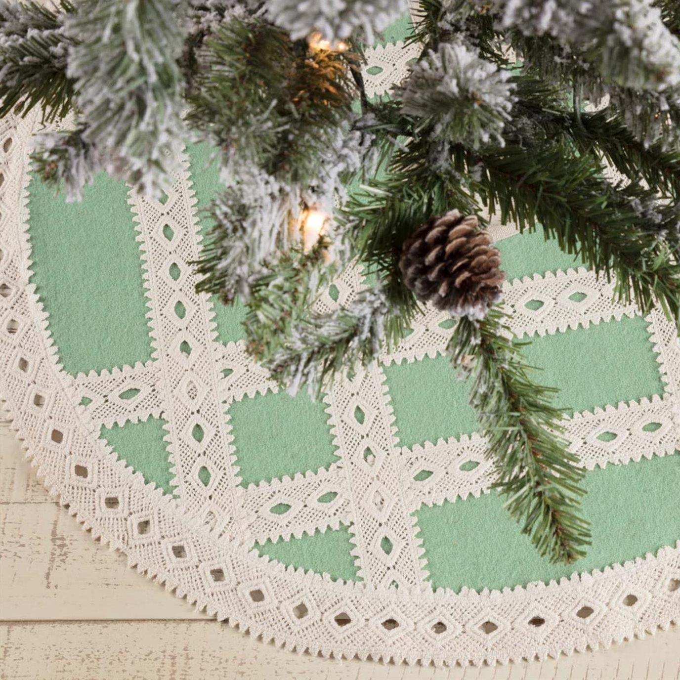 Margot Mint Mini Tree Skirt 21