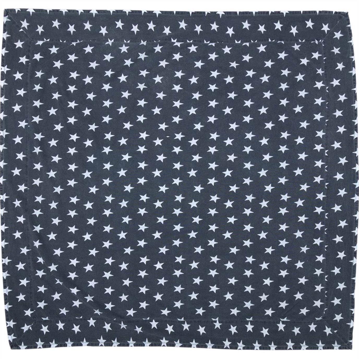 Multi Star Navy Table Cloth 60x60