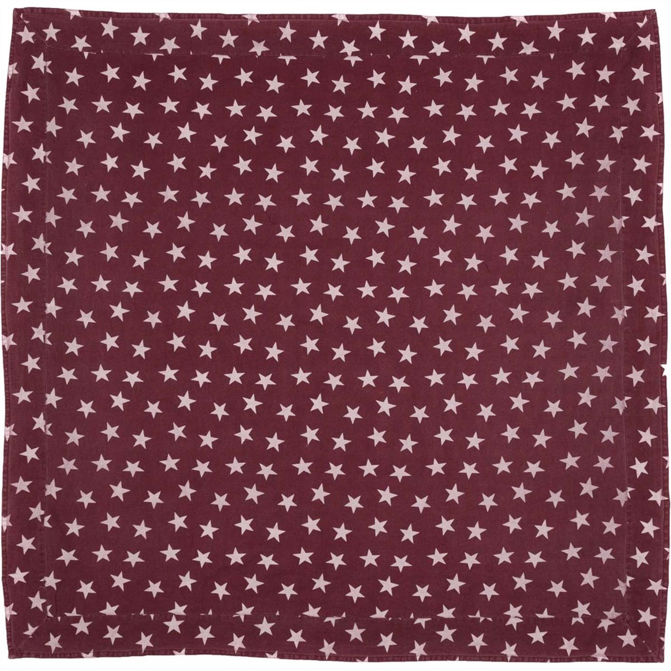 Multi Star Red Table Cloth 60x60