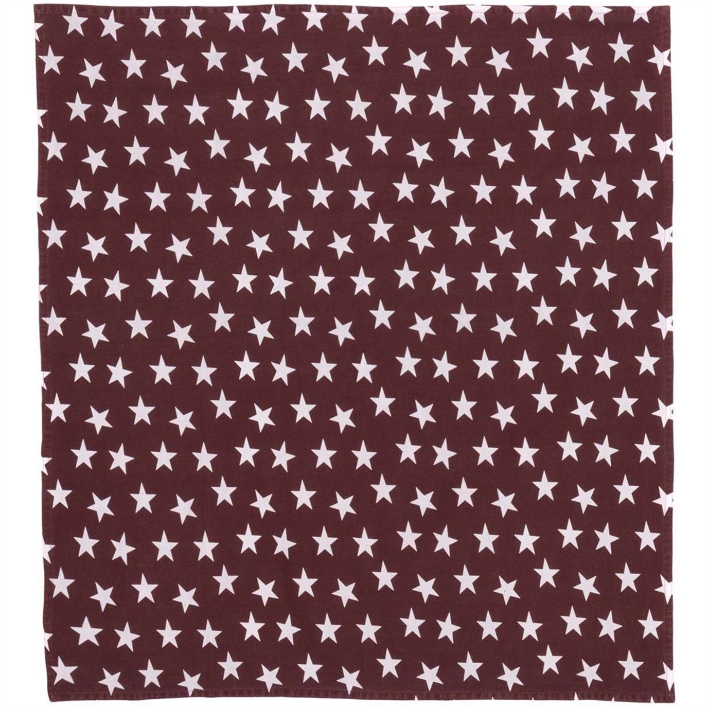 Multi Star Red Table Topper 40x40