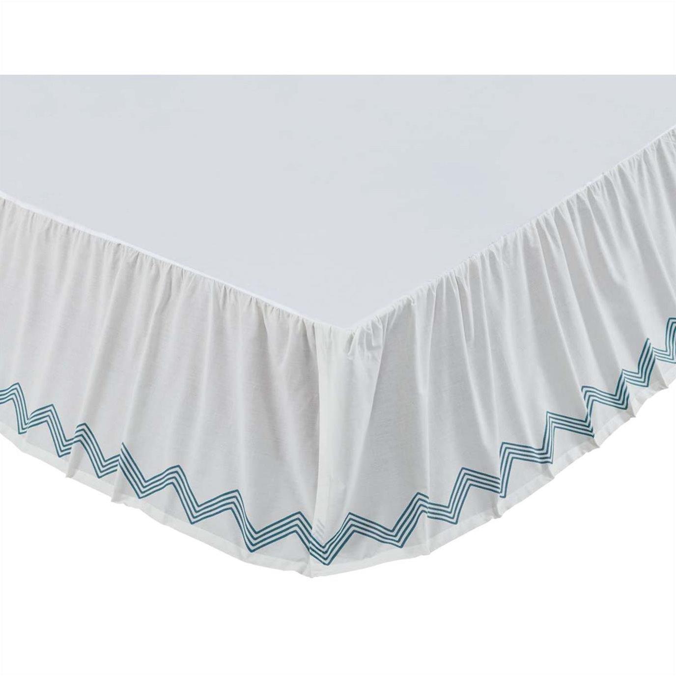 Laguna King Bed Skirt 78x80x16