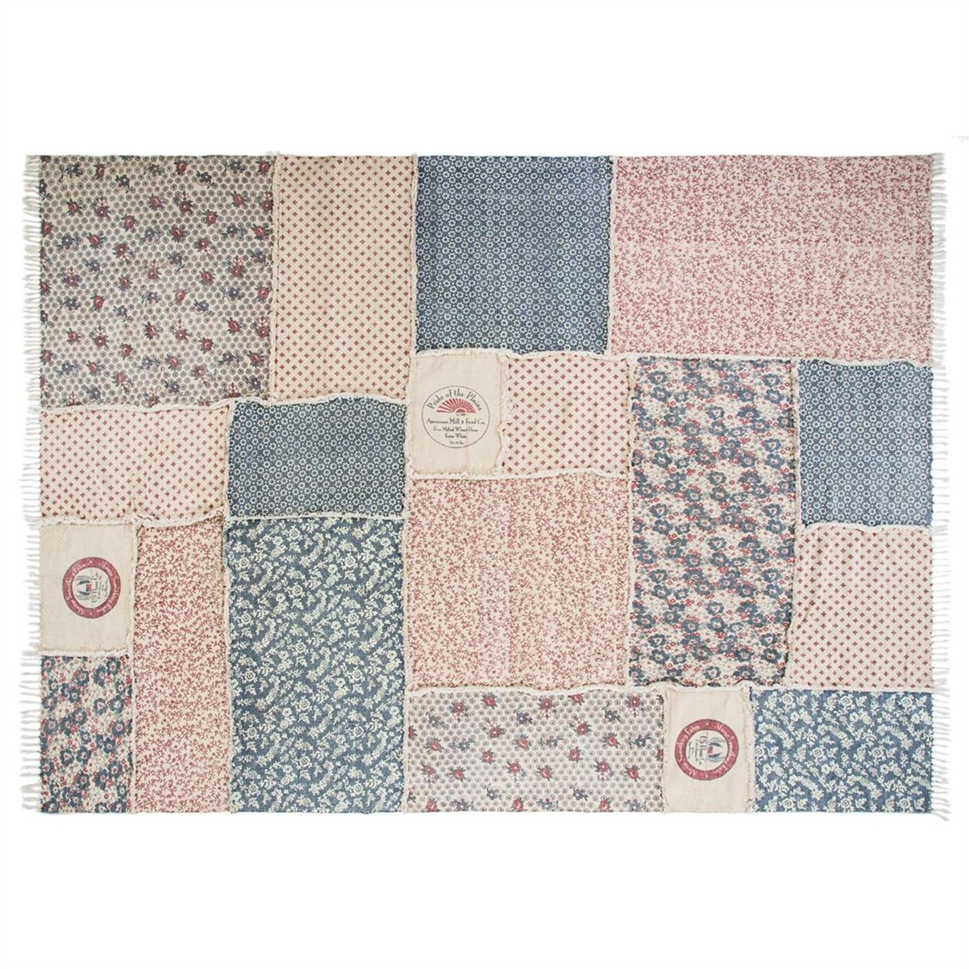 Millie Patchwork Rug Rect 93x127
