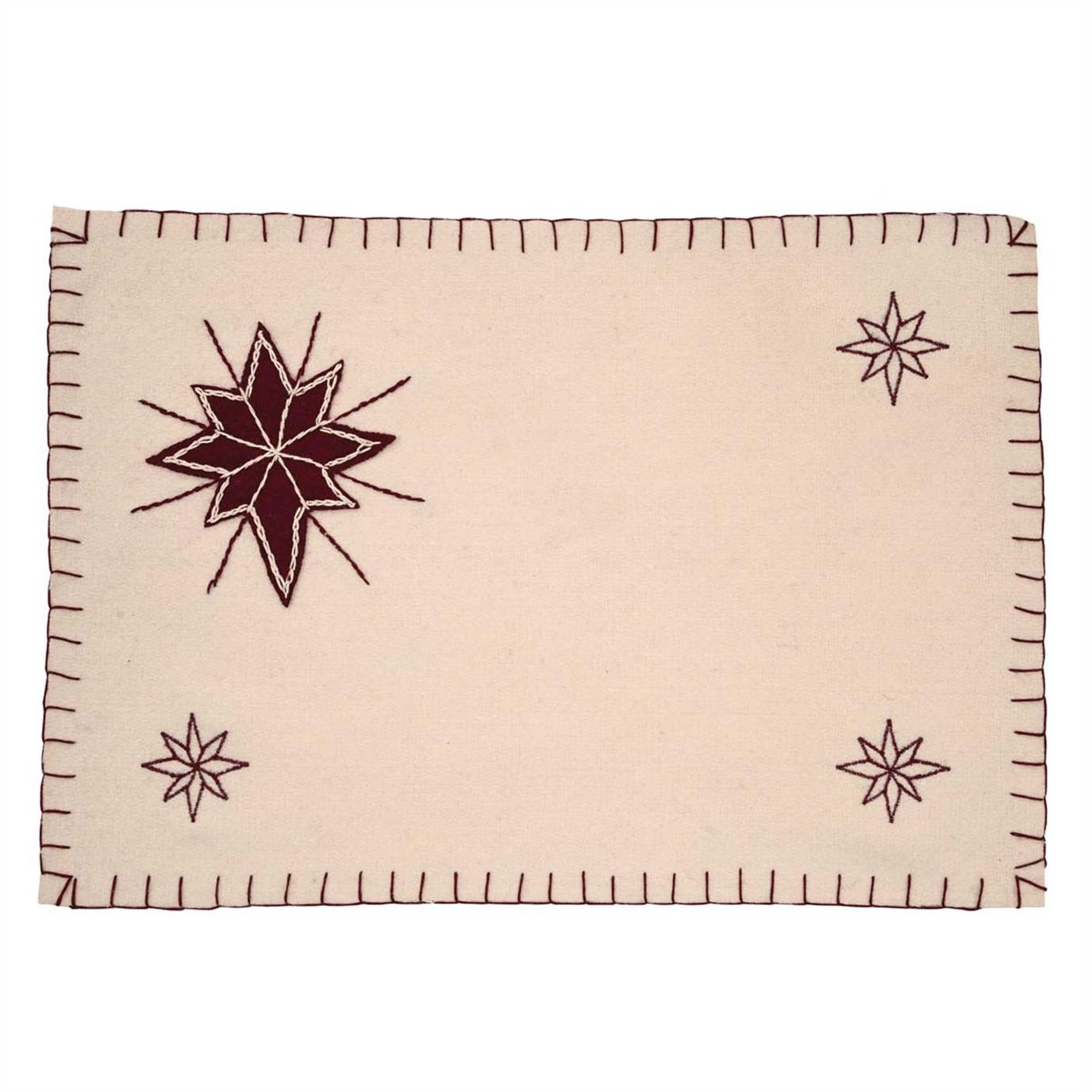 North Star Placemat Set of 6 12x18