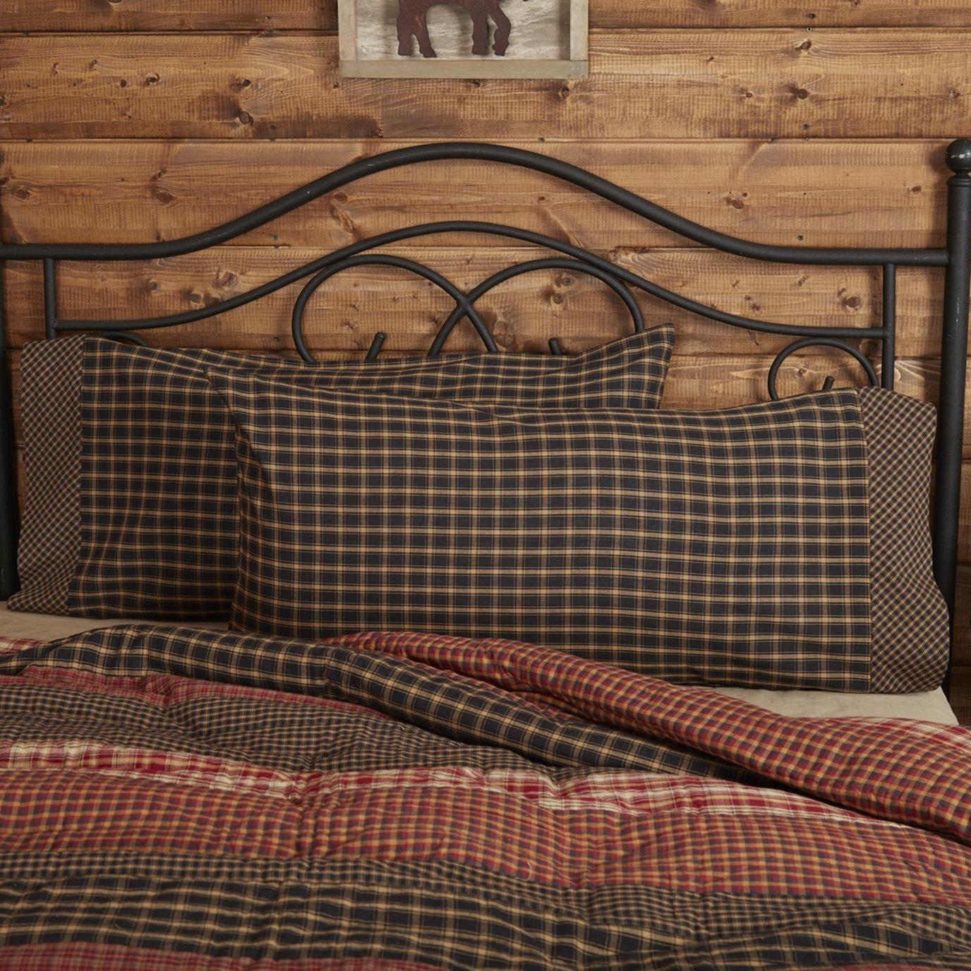 Beckham King Pillow Case Set of 2 21x40