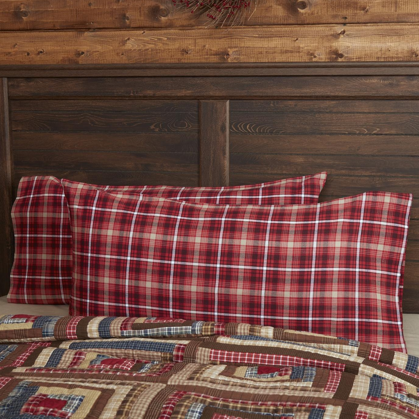 Braxton King Pillow Case Set of 2 21x40