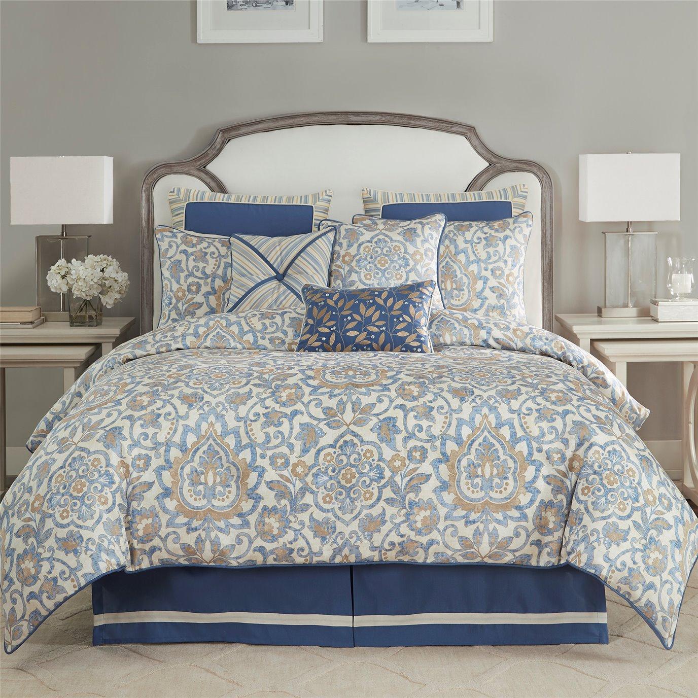 Croscill Janine Queen 4 Piece Comforter Set