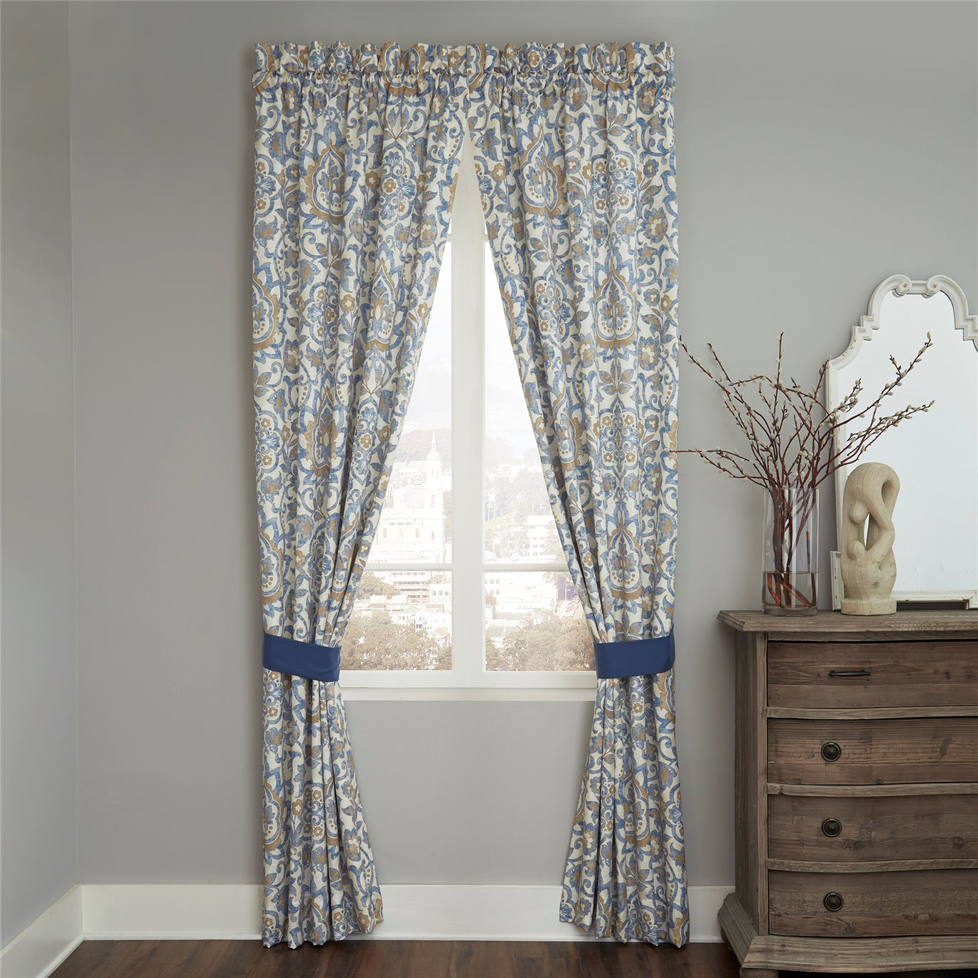 Croscill Janine Panel Pair Curtain (82x95)