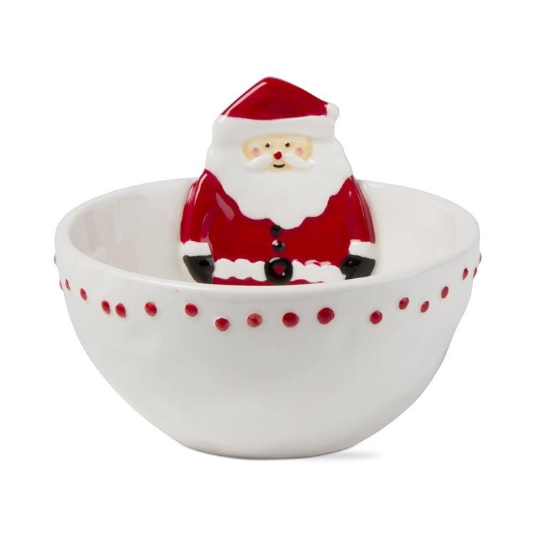 Jolly Santa Bowl