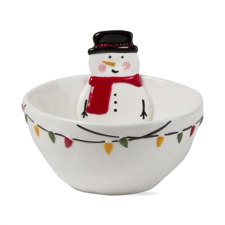 Jolly Snowman Bowl