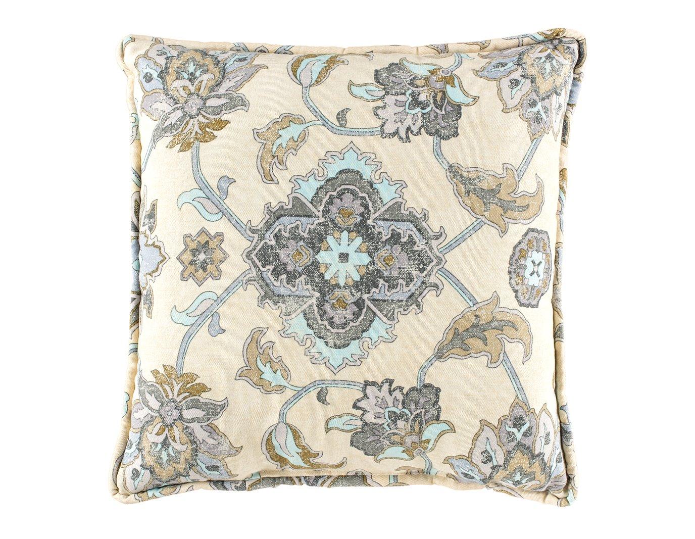 Brooklyn Graphite Square Pillow