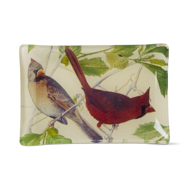 Cardinal Glass Plate