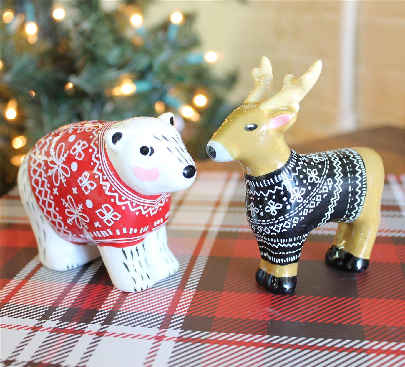 Sweater Friends Salt & Pepper Set