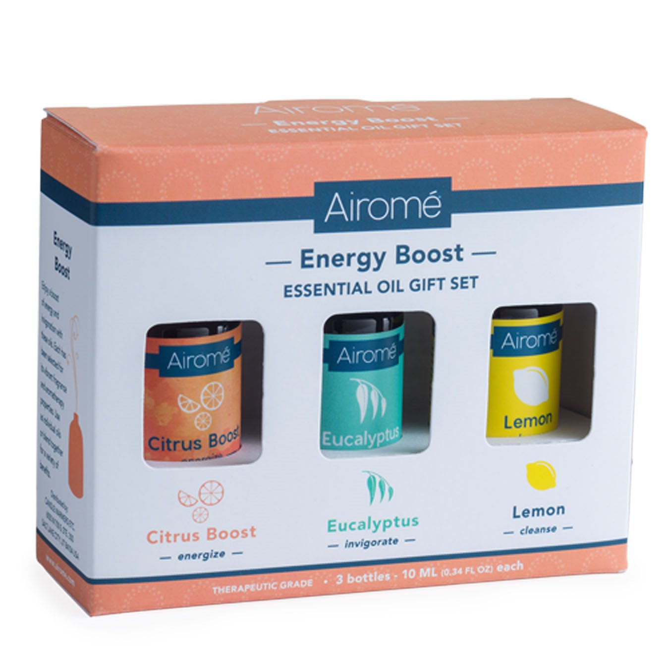 Airomé Energy Boost Essential Oil Set (3X 10Ml)