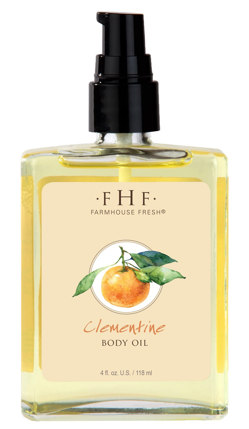 Farmhouse Fresh Clementine Body Oil (4 oz)