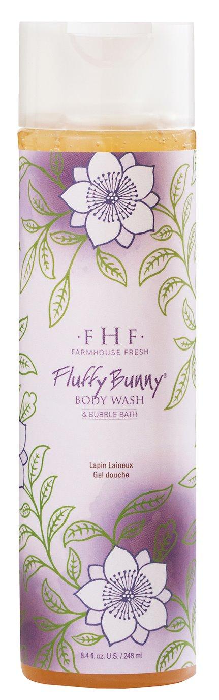 Farmhouse Fresh Fluffy Bunny Body Wash/Bubble Bath (8 oz)