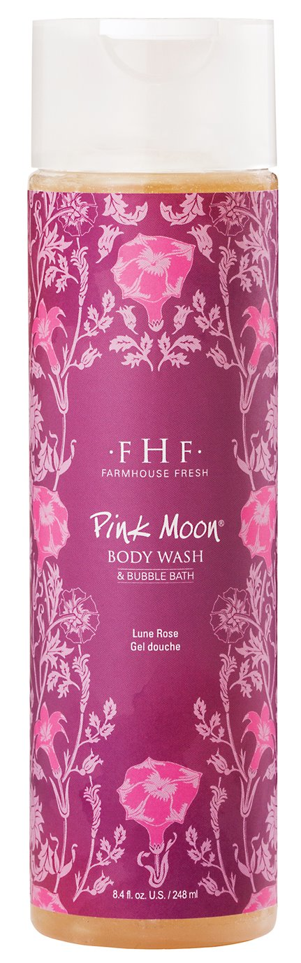 Farmhouse Fresh Pink Moon Body Wash/Bubble Bath (8 oz)