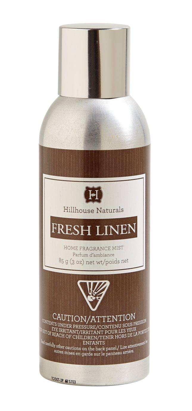 Fresh Linen Fragrance Mist 3 oz by Hillhouse Naturals