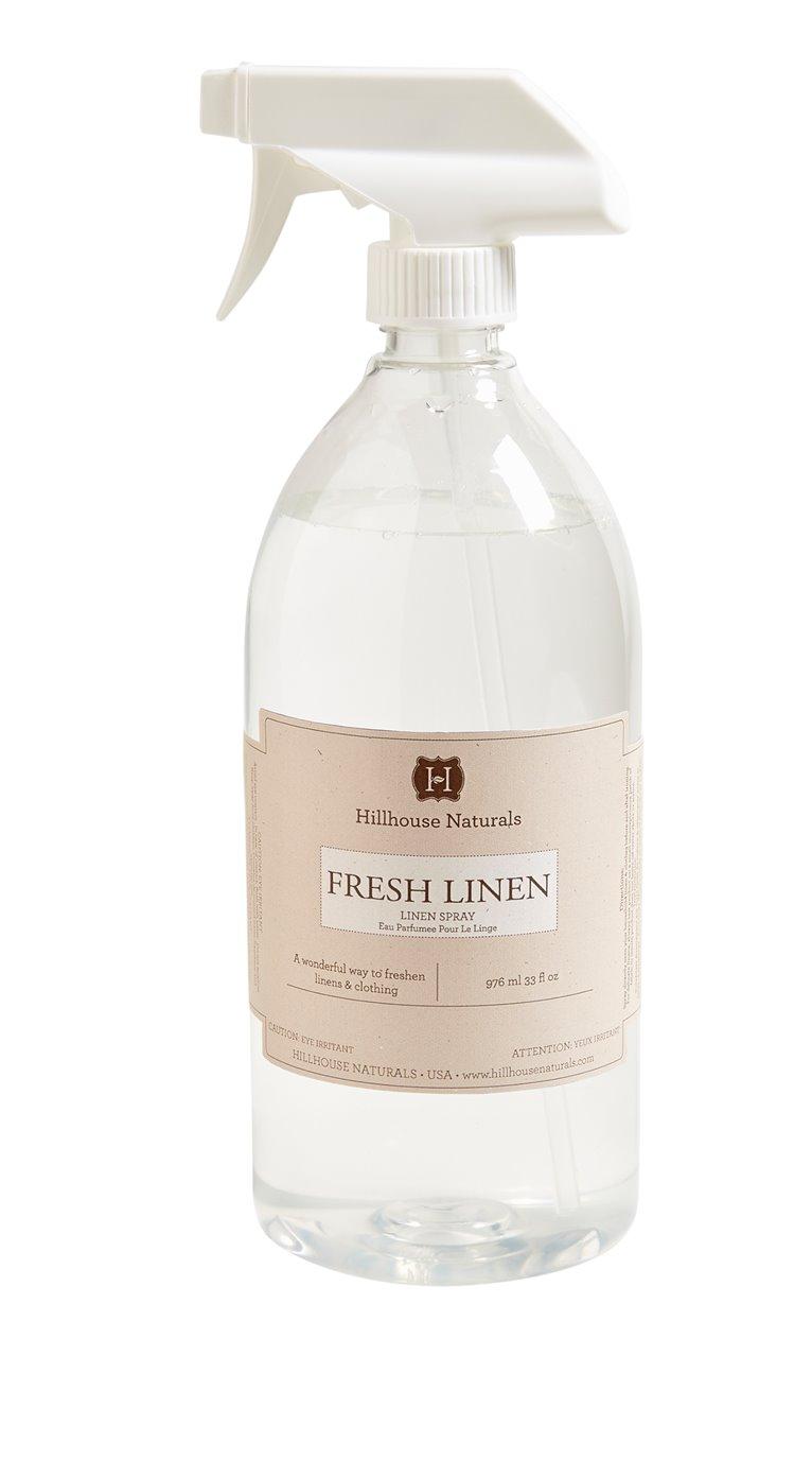 Fresh Linen Linen Mist 1 Liter by Hillhouse Naturals
