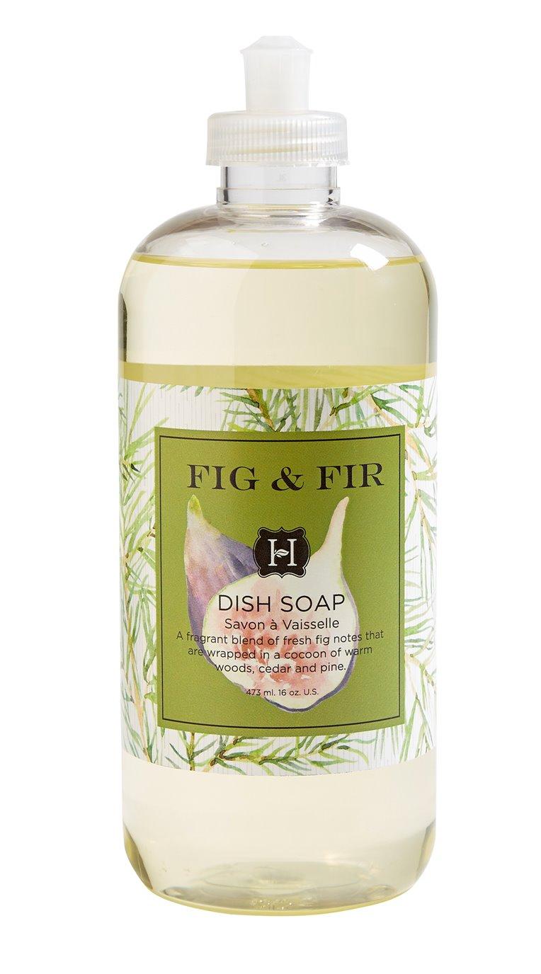 Fig & Fir Dish Soap 16 oz by Hillhouse Naturals