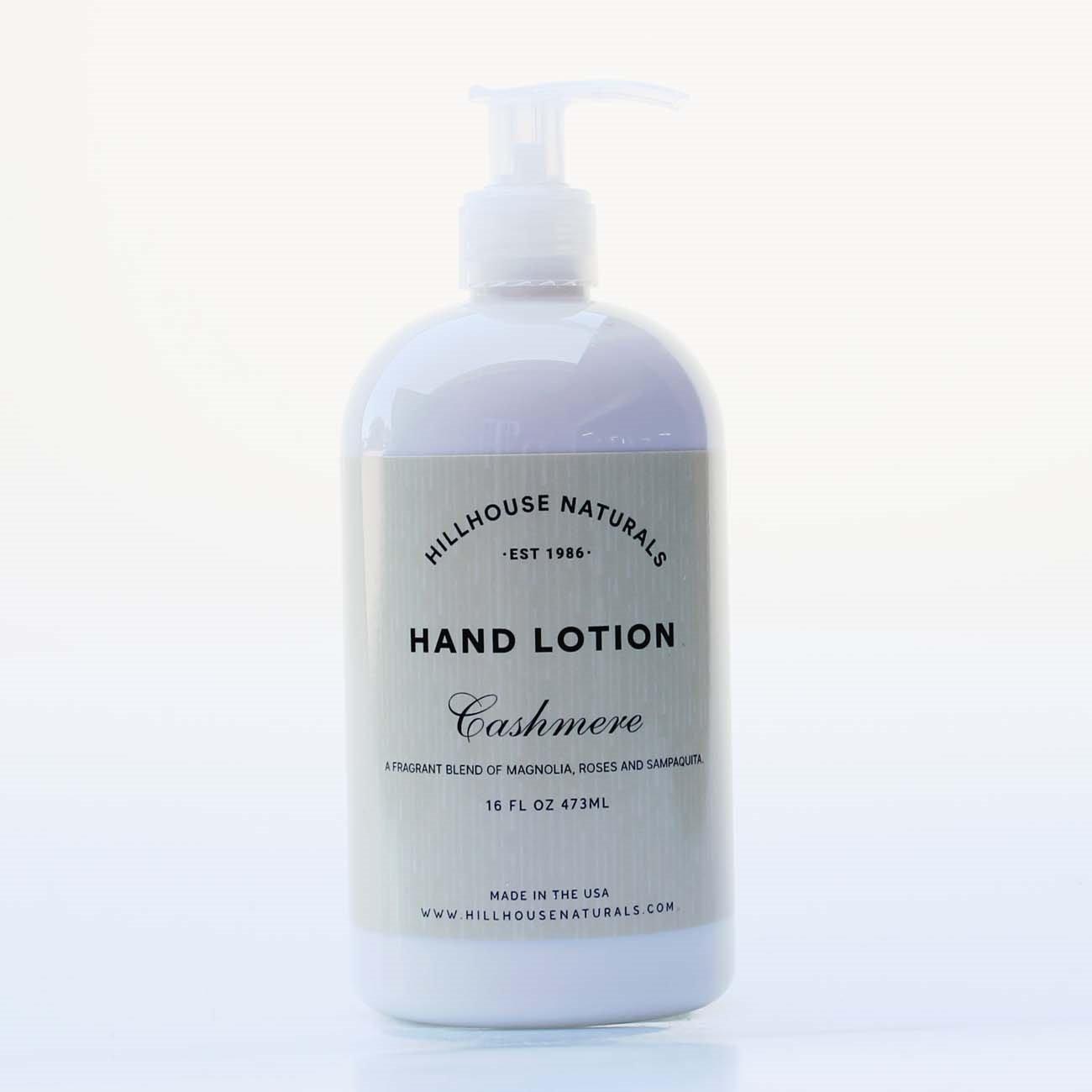 Cashmere Hand Lotion 8.25 oz by Hillhouse Naturals