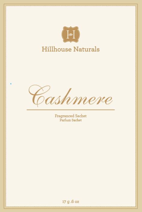 Cashmere Sachet .6 oz by Hillhouse Naturals
