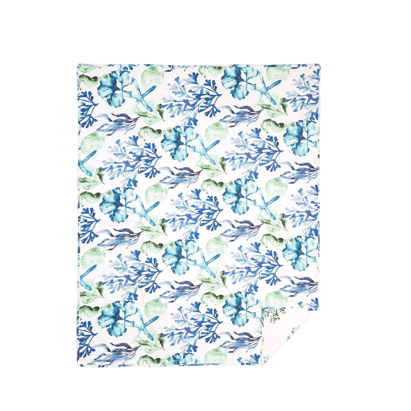 Bluewater Bay Quilted Throw