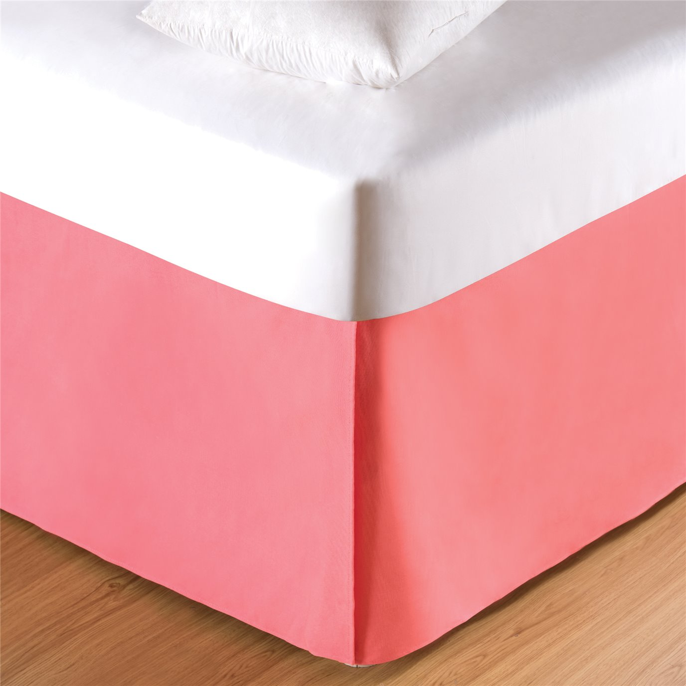 Coral Queen Bed Skirt