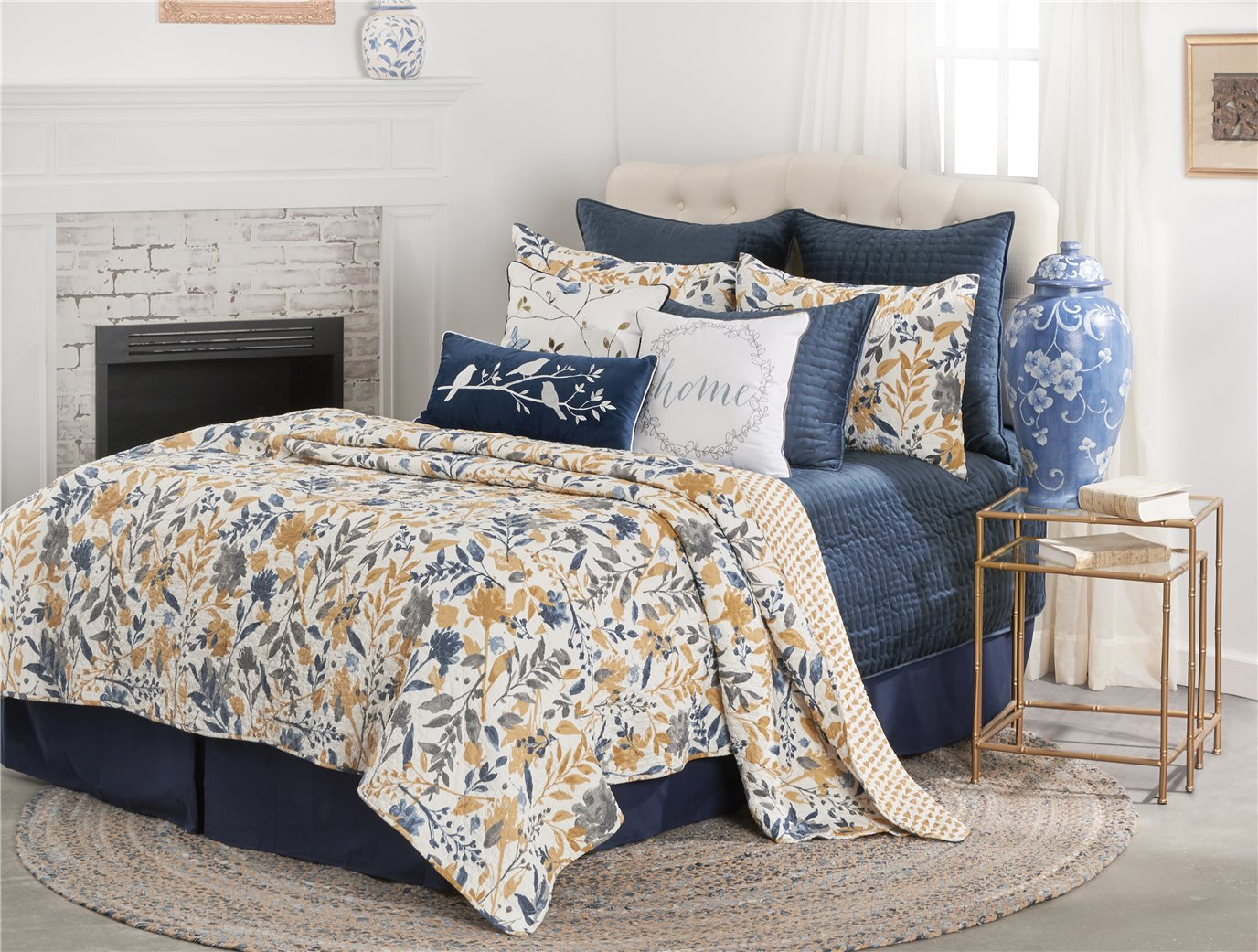 Natural Home Twin Quilt Set