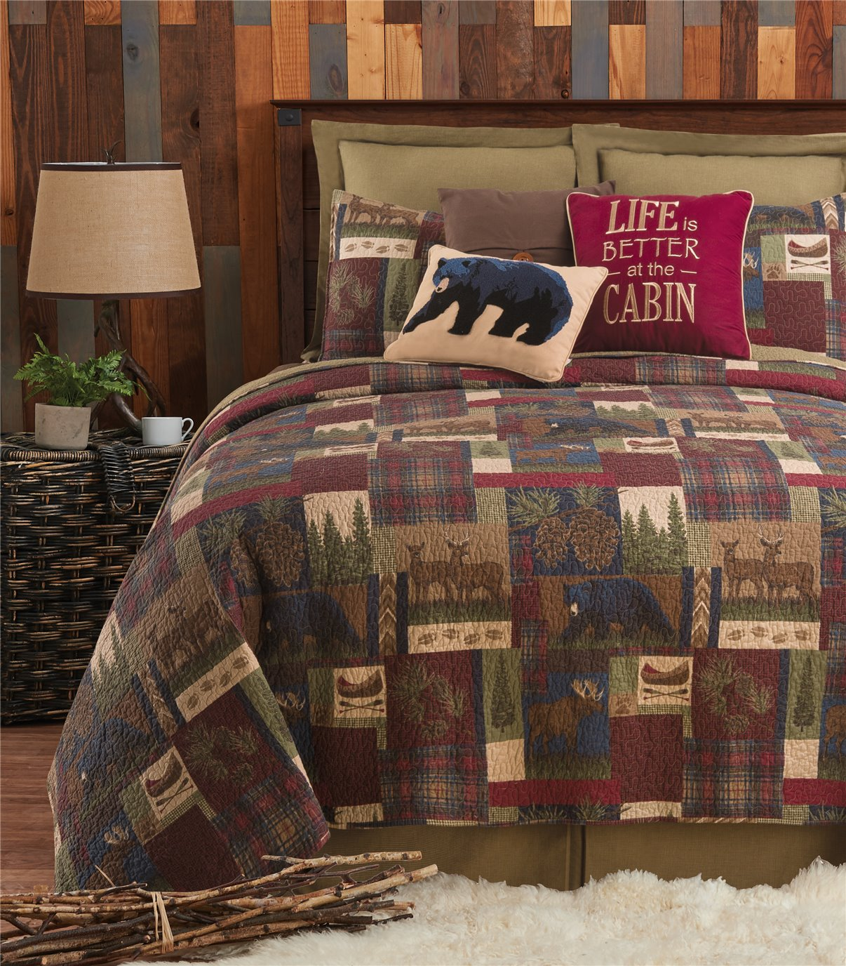 Rutherford Twin Quilt Set