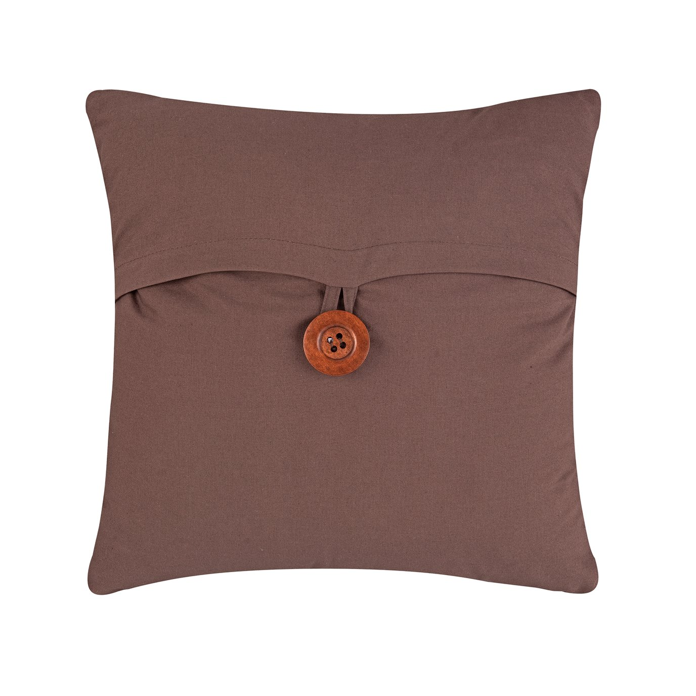 Brown Feather Down Envelope Pillow