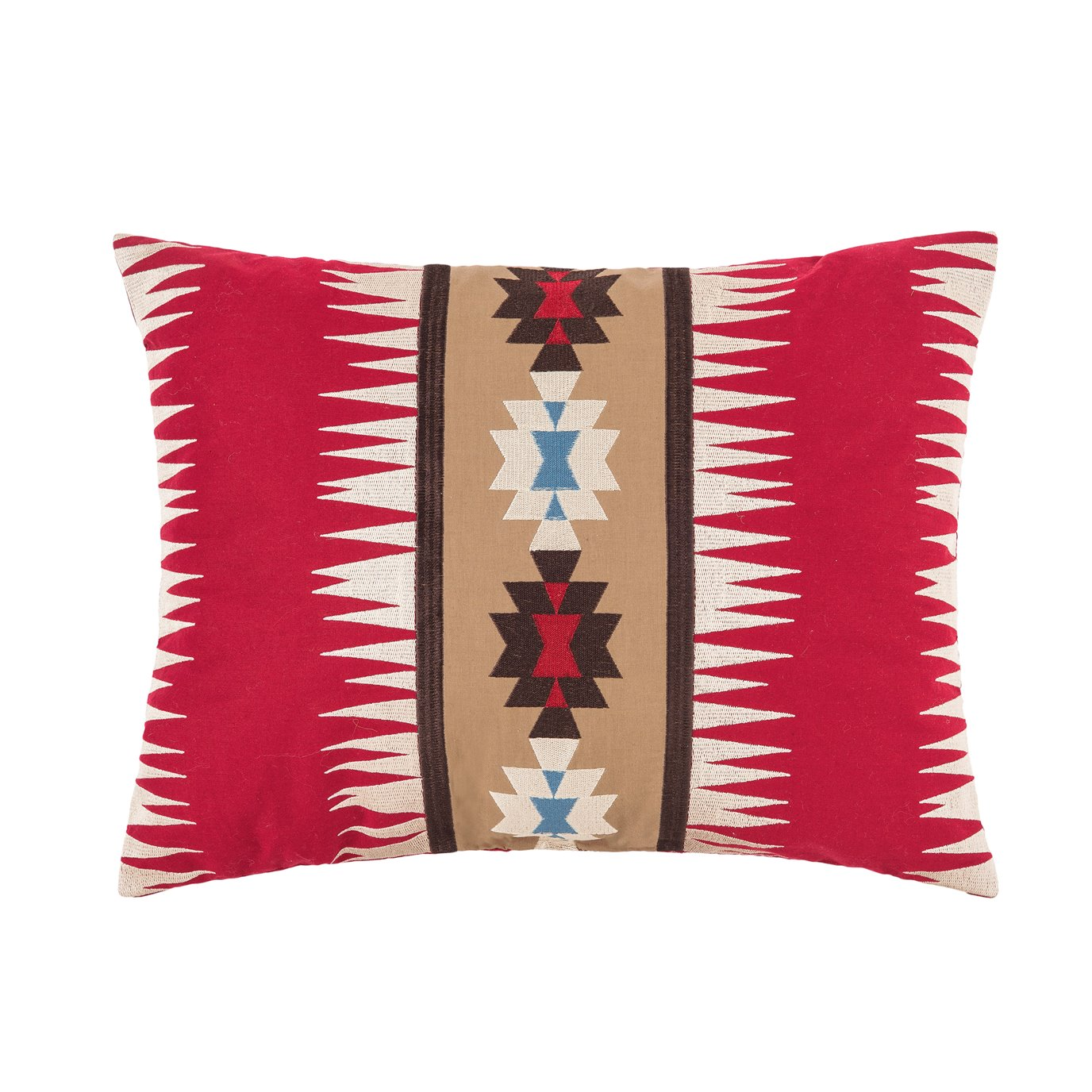 Wyatt West Embroidered Pillow