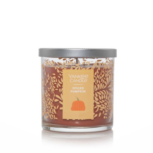 Yankee Candle Spiced Pumpkin Regular Tumbler (Fall Jar)