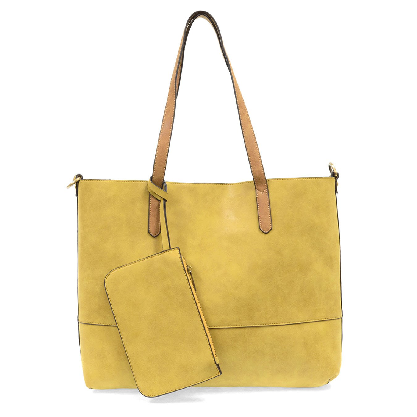 Brushed Chartreuse 2-in-1 Tote