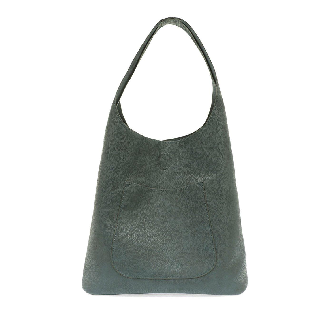 Dark Chambray Molly Slouchy Hobo Handbag